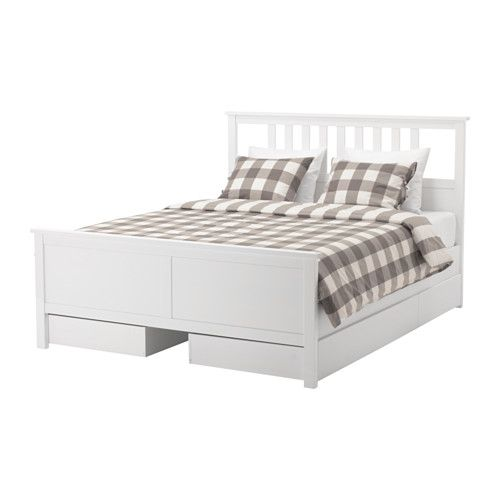 Hemnes Bettgestell Mit 4 Schubladen Weiss Gebeizt Ikea Deutschland With Images Ikea Hemnes Bed Bed Frame With Storage Hemnes Bed