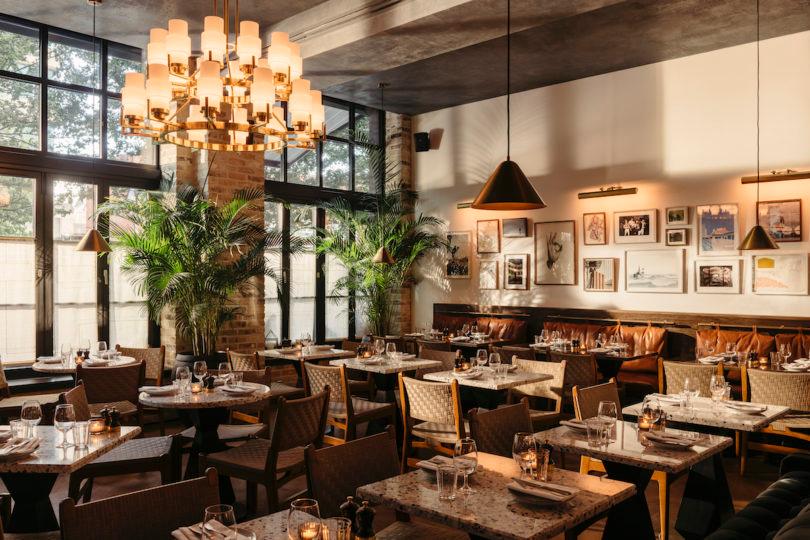 The Hoxton Southwark Rest Work Dine Among London S Creatives Design Milk Hotel Hoxton Southwark Design Milk