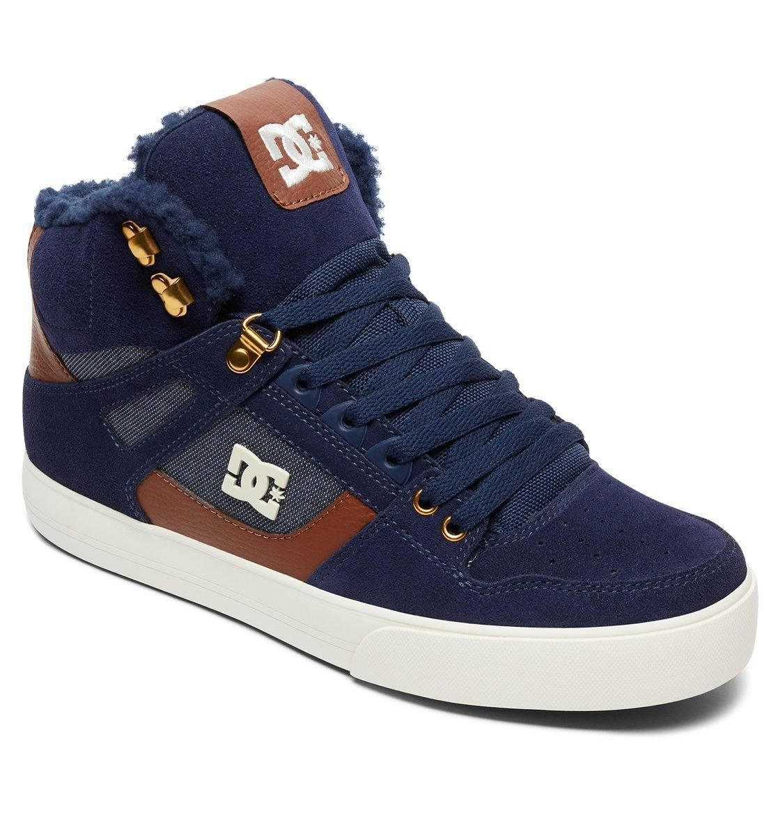 DC Shoes Men s Crisis High Top Shoes ADYS100032 Size 10 Black  Blue  NEW   DCShoes  FashionS…  8224e2774ccd6