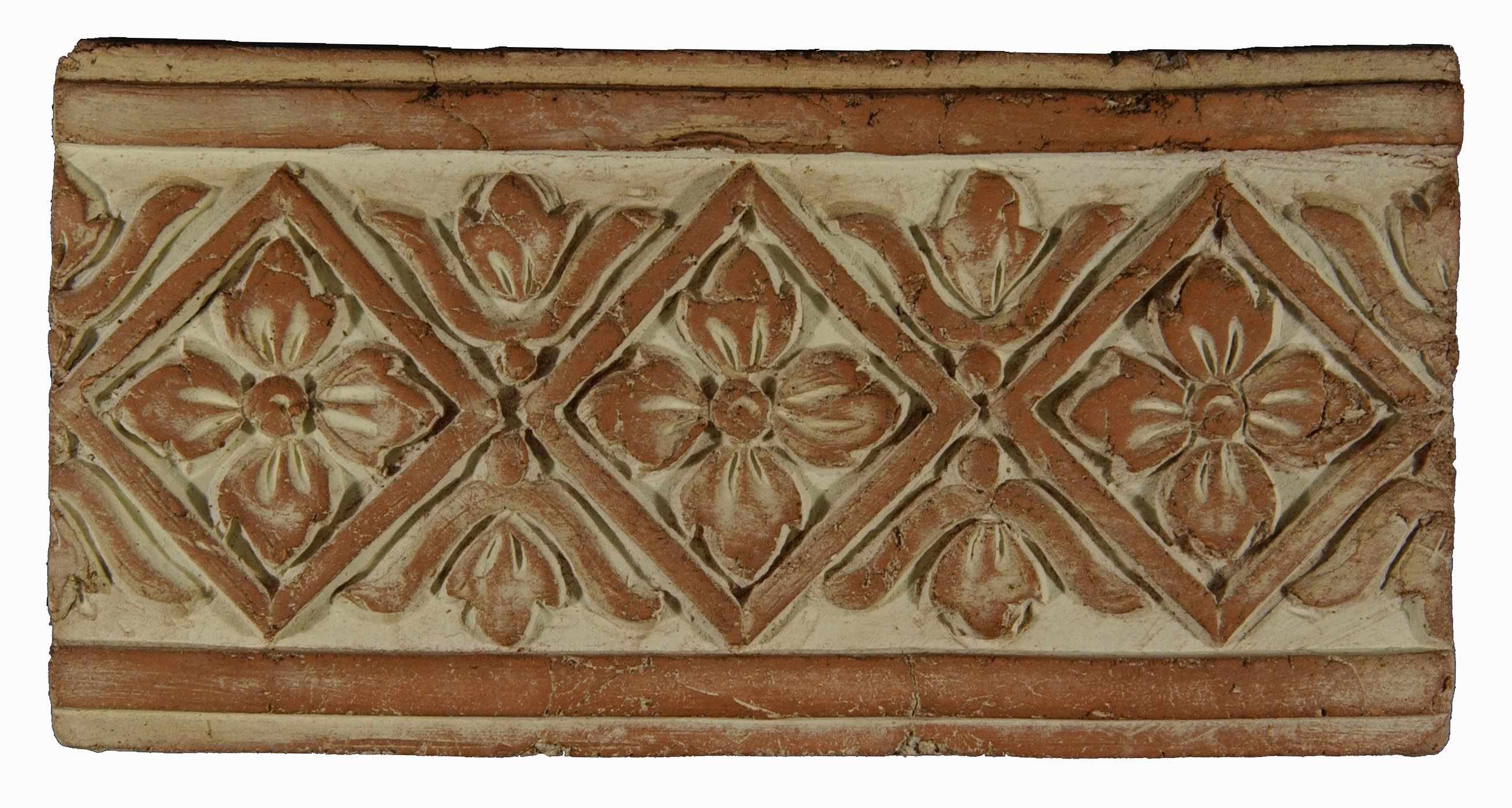 Decorative Relief Tiles Best Decorative Border  Italian Terracotta Tiles  Pinterest  Bath Design Decoration