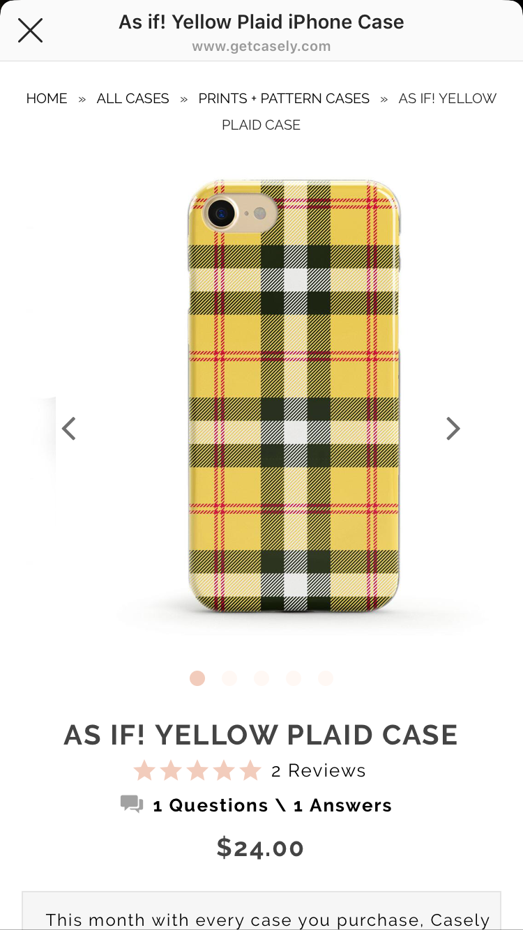 Yellow plaid phone case Phone cases, Case, Iphone cases