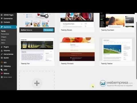 Crear temas hijo (child themes) en WordPress | Random | Pinterest ...