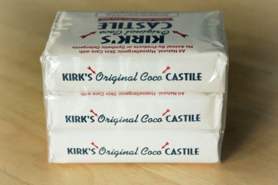 Kirk's bar into liquid Castile.