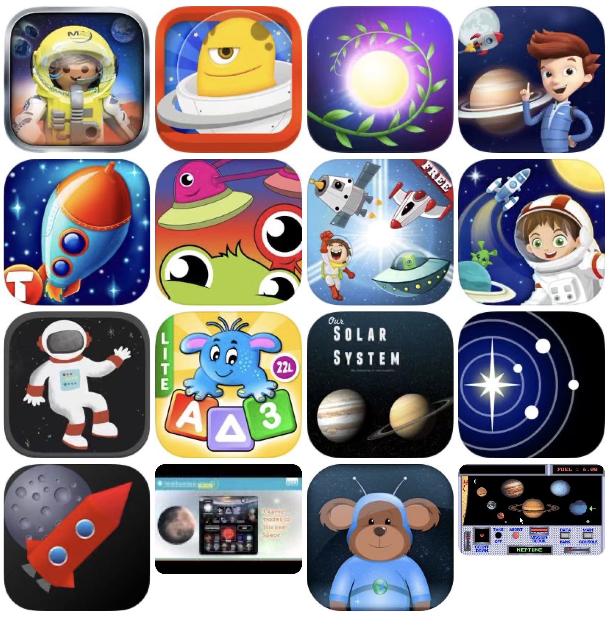 Best Ios Space Apps For Kids Best Space Apps Activities For