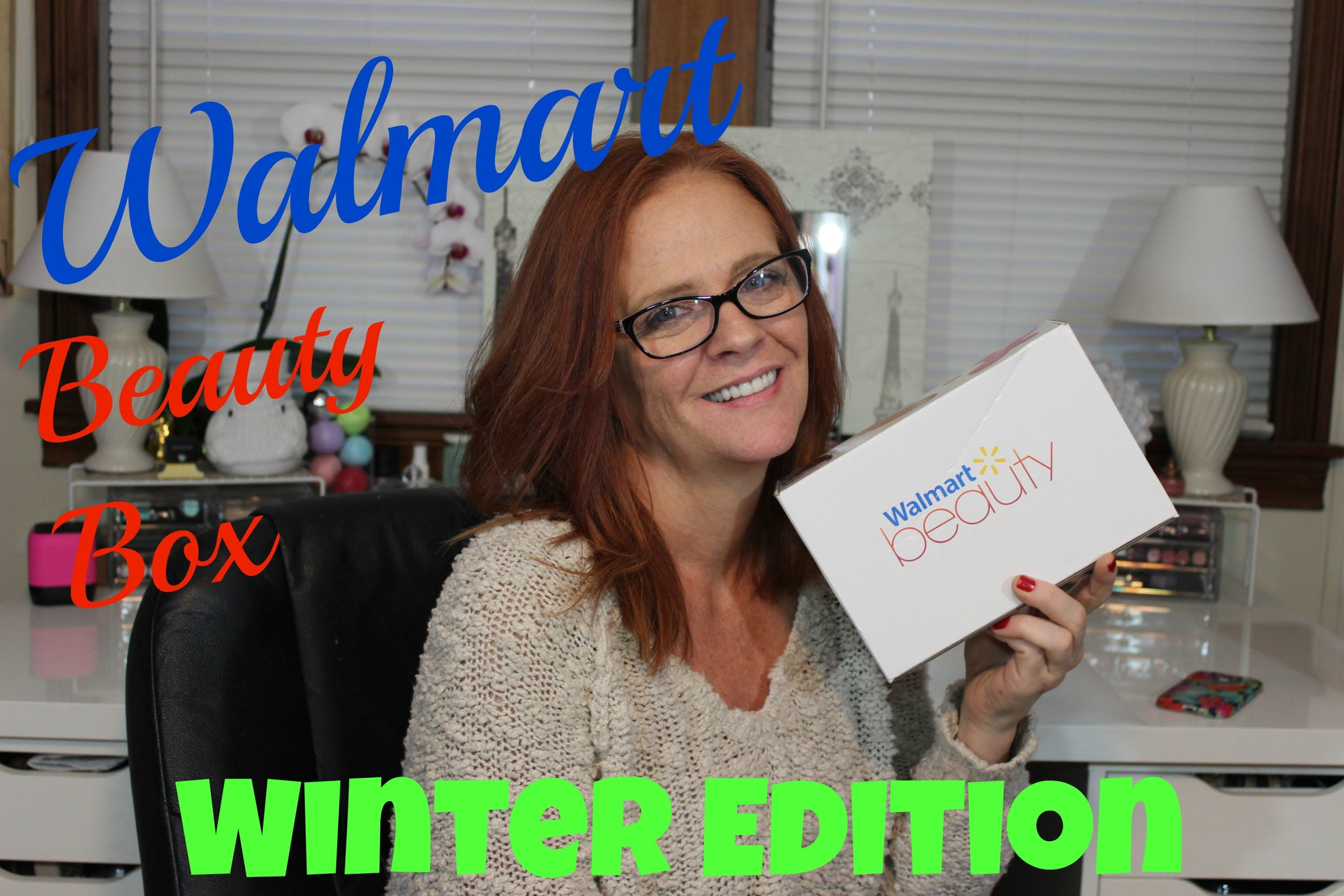 Walmart Beauty Box - Winter Edition