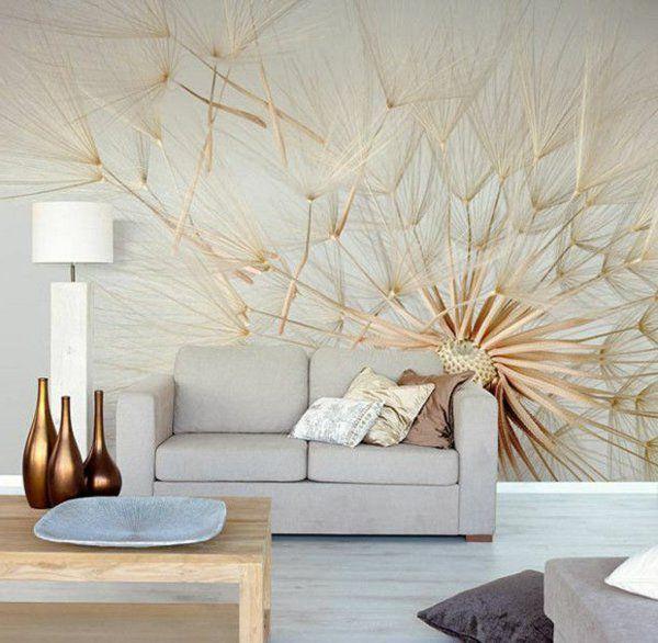 wohnzimmer wandgestaltung ausgefallene tapeten | wallpaper or ... - Tapete Wohnzimmer Beige