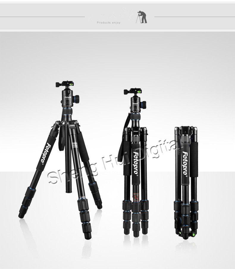 Fotopro camera tripod MGA-684N+62Q SLR camera,DV tripod+Wireless Remote Shutter | eBay