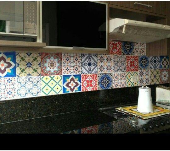 Detalhes da cozinha