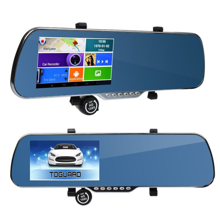 Gift idea: 5 Touch Screen Android Parking Display Car Dash Cam Dashboard Camera