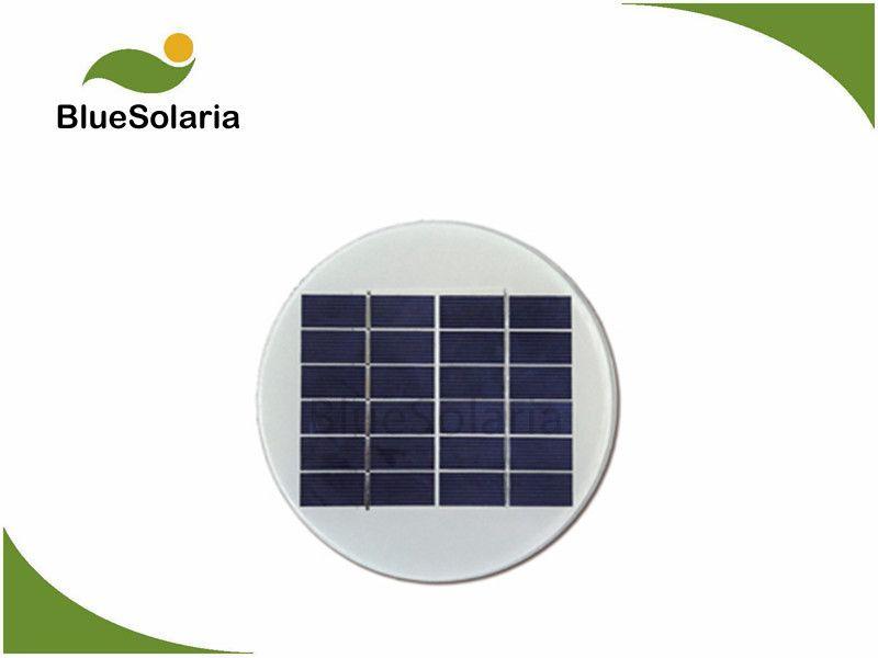 6v 1 4w Round Solar Panel Small Solar Panels Solar Panels Solar Cell