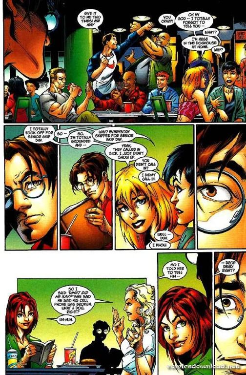 ultimate spider-man powerless | Ultimate Spider-Man 001 ...