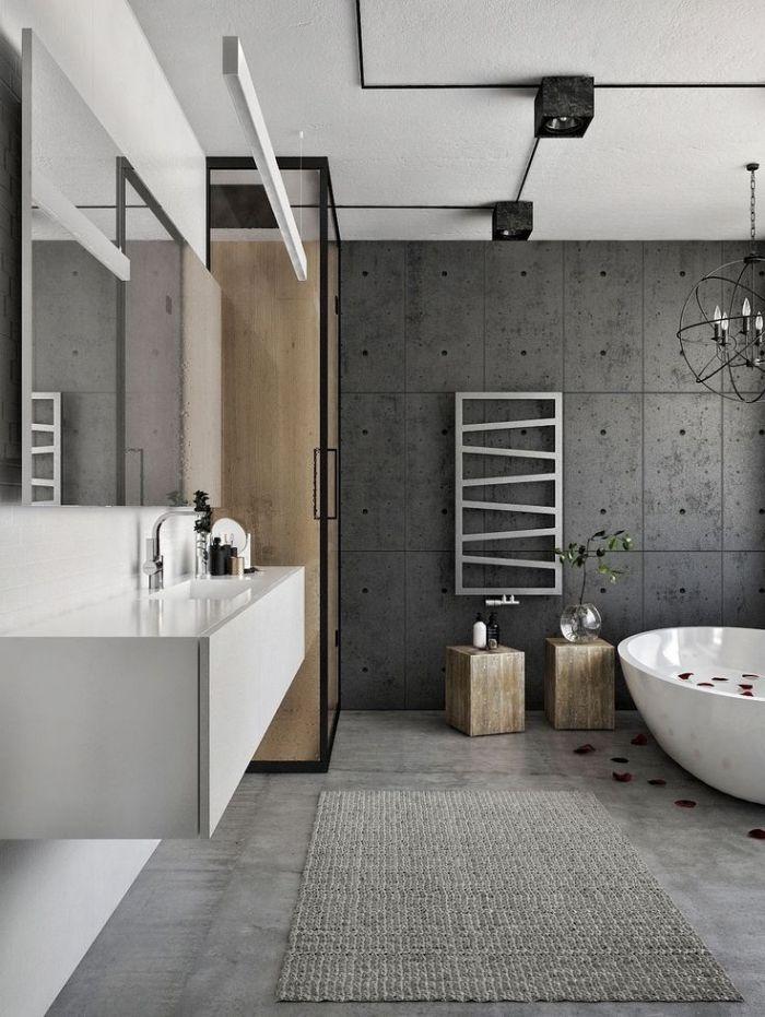 Badezimmer Deko Grau   Ess Wohnzimmer Ideen