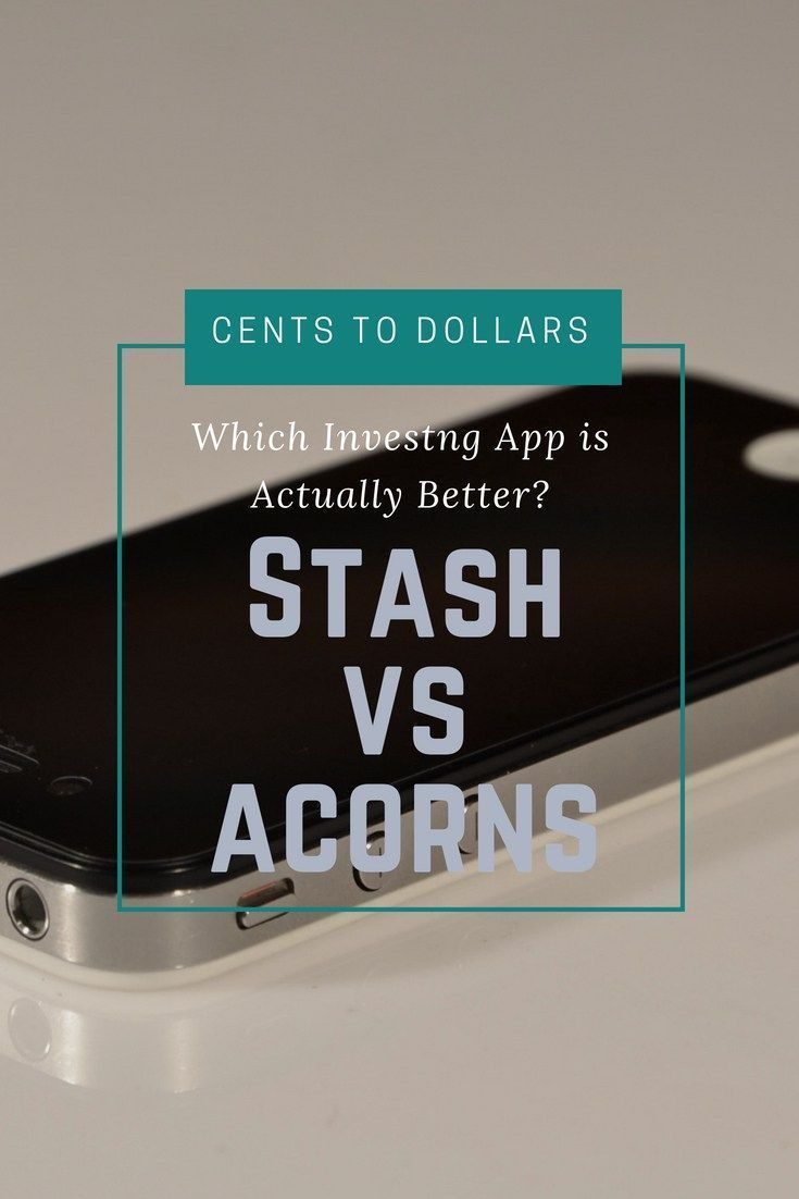 Stash vs Acornswhich investing app is actually better