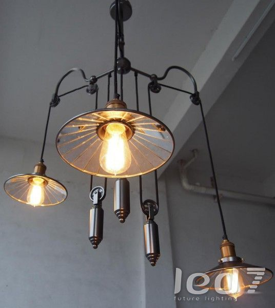 Loft industry punk mirrors chandelier interior light pinterest loft industry punk mirrors chandelier aloadofball Images