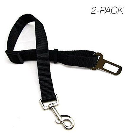 Dog Seat Belt Harness Made Of Durable Harness 2 Pack Dog Seat