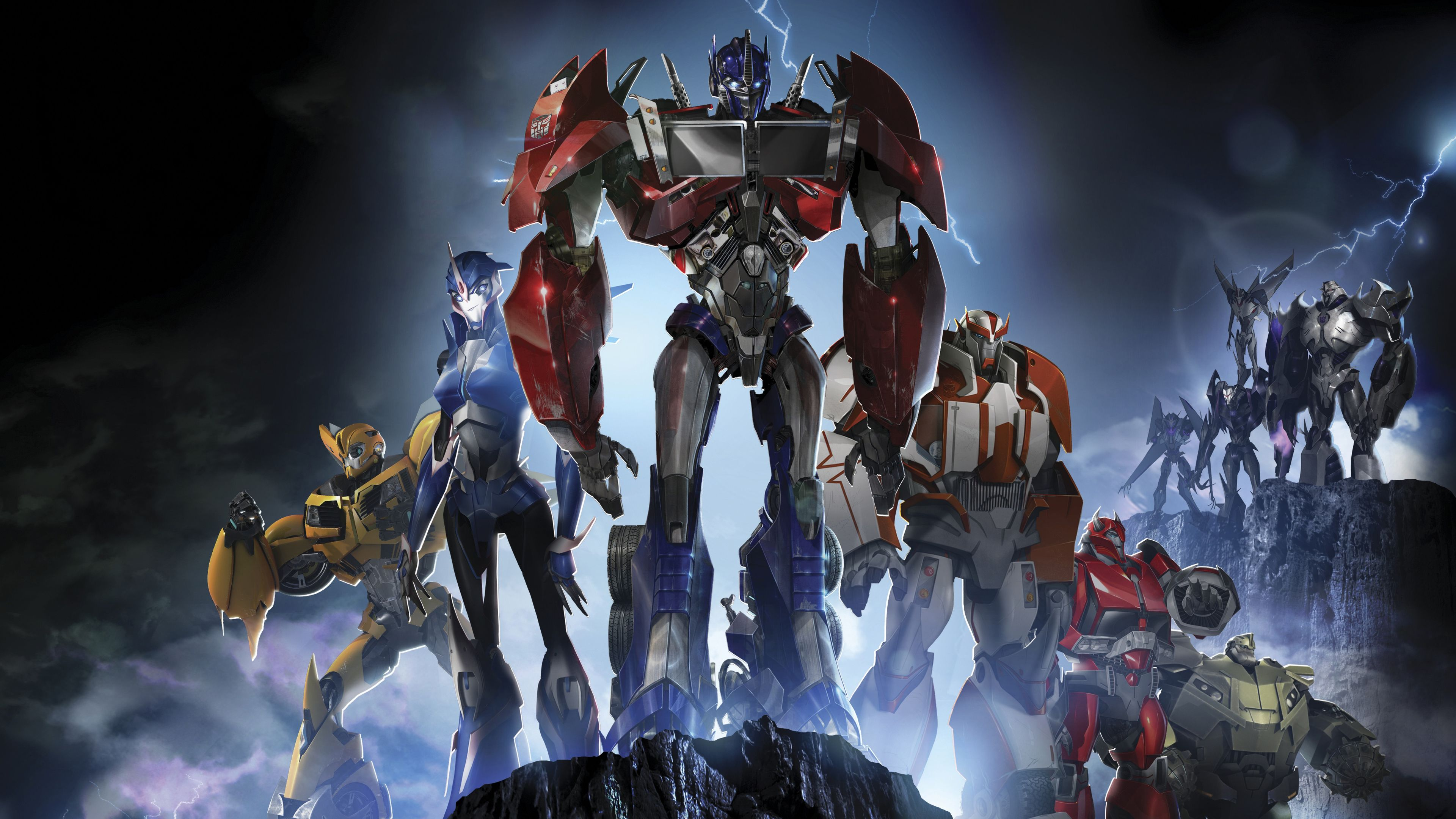 Wallpaper 4k Transformers Prime 4k 4kwallpapers, hd