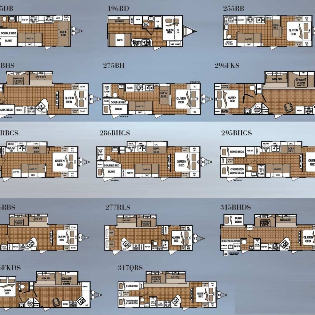 Fleetwood travel trailer floor plans terry a large number of house owners have good ideas for supplementing new home floor