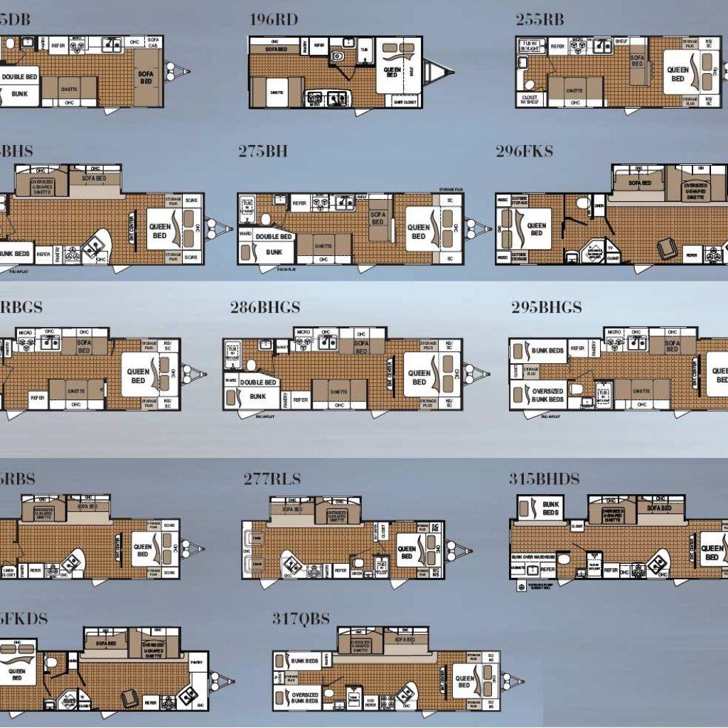 fleetwood travel trailer floor plans terry http viajesairmar