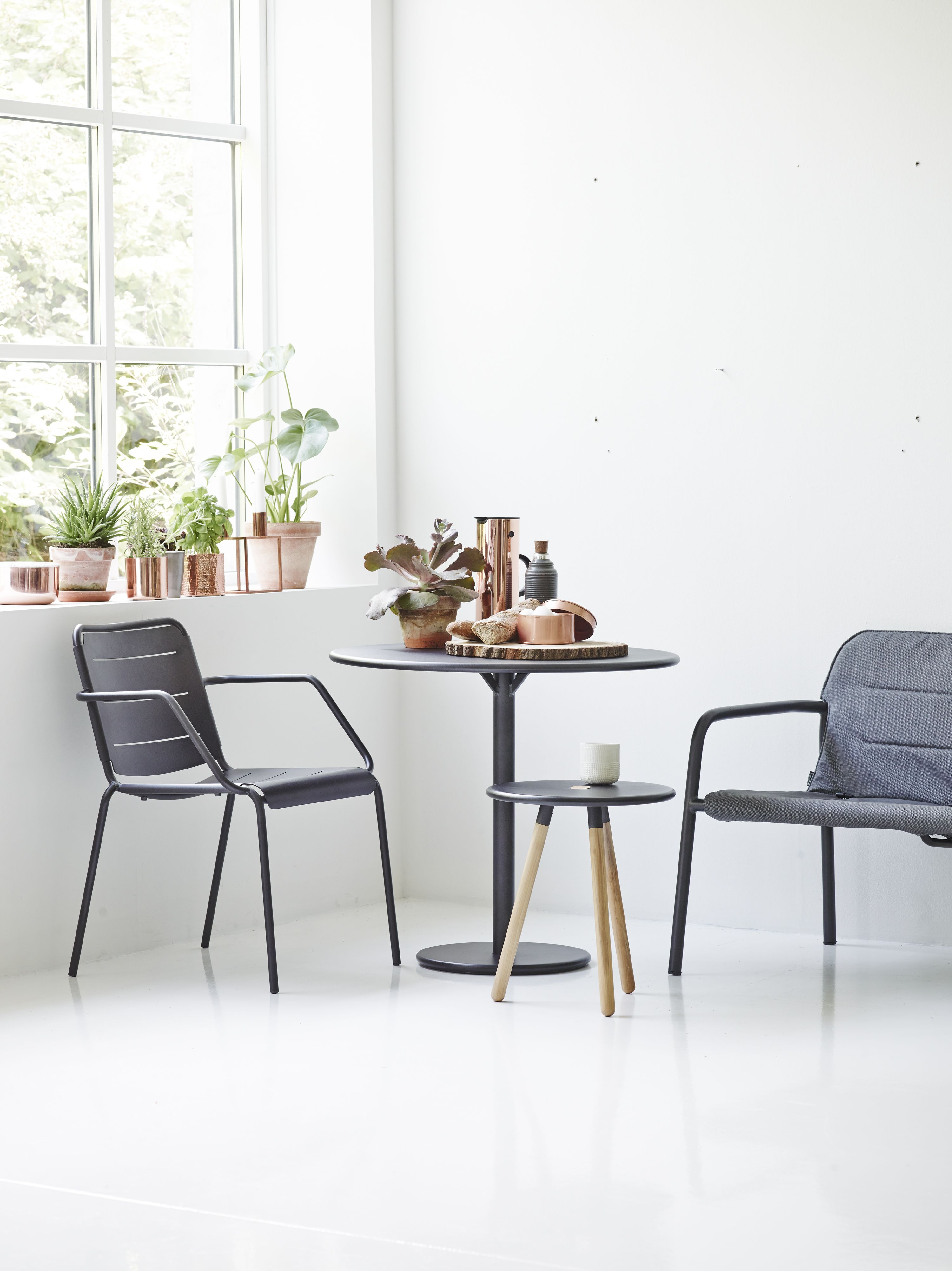 Go Table Copenhagen Stool Kapa Lounge Chair And Area Table Stool Perfect For A Small Area Both F High Back Dining Chairs Compact Table And Chairs Furniture