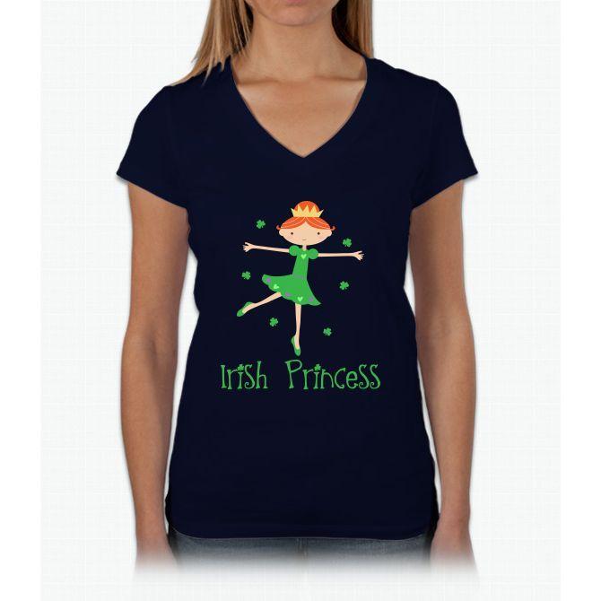 Women's Kids Light Womens V-Neck T-Shirt