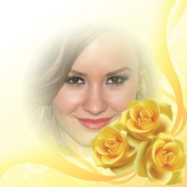 Una nueva alternativa para decorar las mejores imágenes, aquellas que más te encantan, es utilizando el fotomontaje de rosas amarillas que te dejamos en el día de hoy. Al igual que todos los diseño…