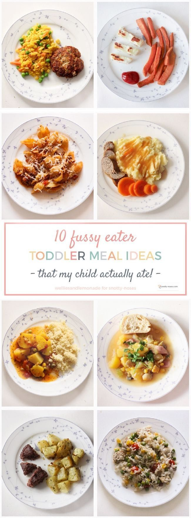 Picky Toddler Meal Ideas | Pinterest | Picky toddler meals, Meal ...