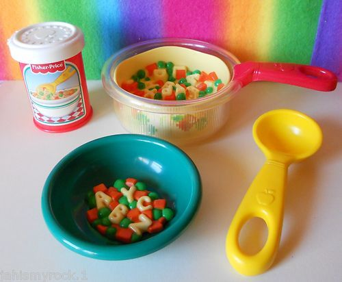 Play Kitchen Dishes fisher price fun with food play pretend kitchen food dishes stir