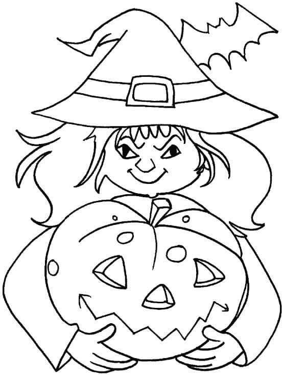 Jack O Lantern Coloring Pages Idea | Halloween coloring ...