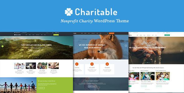Charitable - Charity Nonprofit Organization WordPress Theme ...