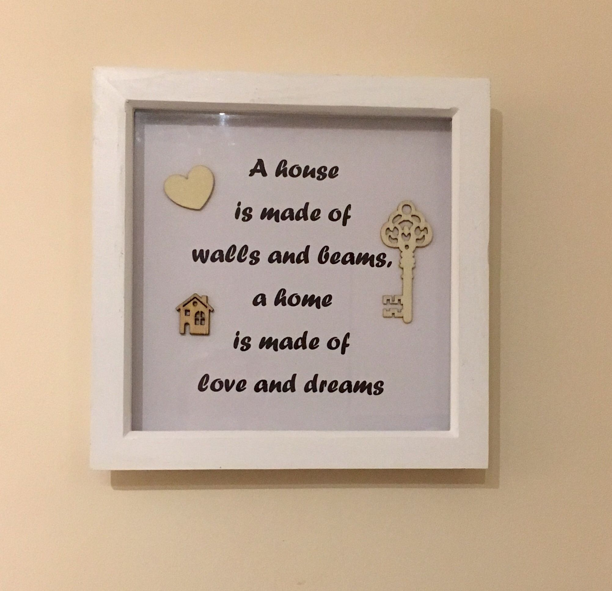 Love all the little things Box Frame Sticker Only Quote Ribba ect