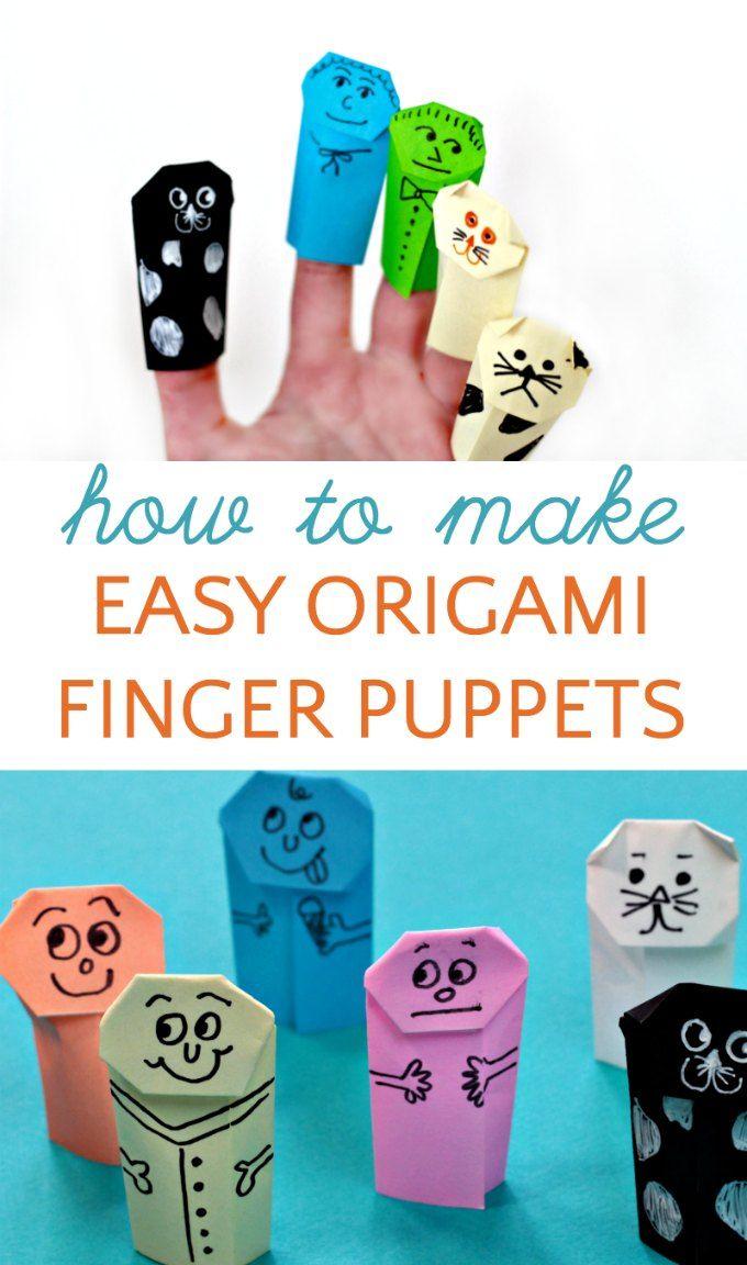 Photo of Verbessern Sie Ihre Lese- und Schreibfähigkeiten mit einfachen Origami-Fingerpuppen