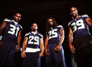 Seahawks legion of boom: Kam Chancellor, Earl Thomas, Richard Sherman, and Brandon Browner