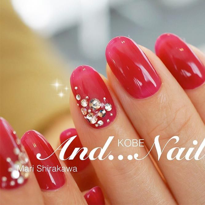 Get The Look 3 Valentine S Day Nail Art Ideas From Lauren B: 55 Happy Valentines Day Nails + Inspirational Romantic