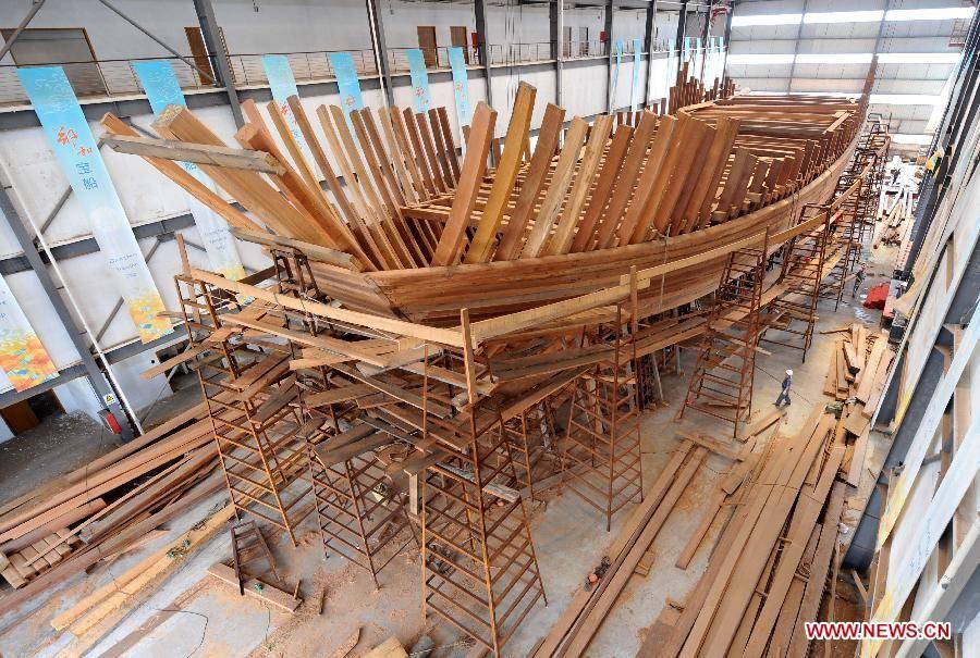 Zheng He Ship Replica Replica ship Zh...