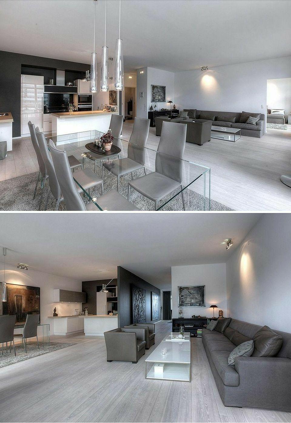 Epingle Par ĸéƒ¨ Sur Wnetrze Domu Idee Deco Maison Decoration Salon Moderne Maison Moderne