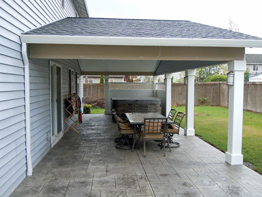 Free Do It Yourself Wood Projects: How To Build A Wood Patio Cover .