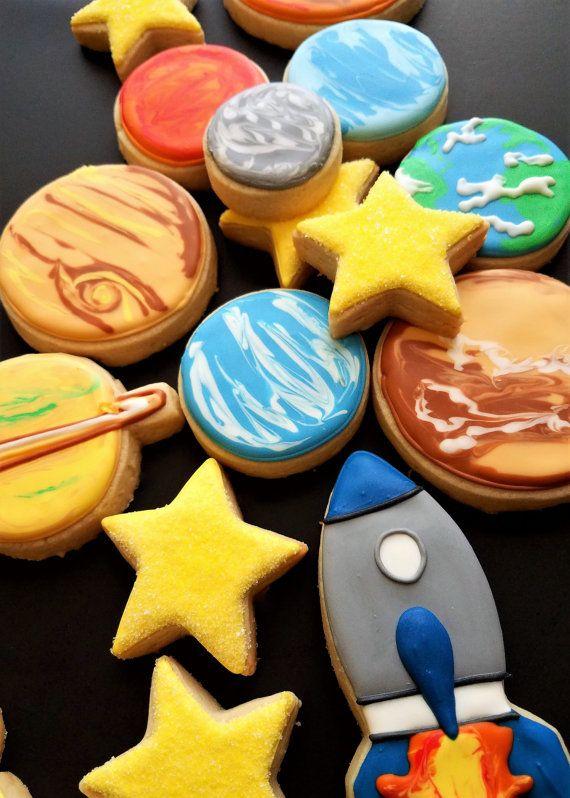 Solar System Cookies CharacterKid Cookies Cookies