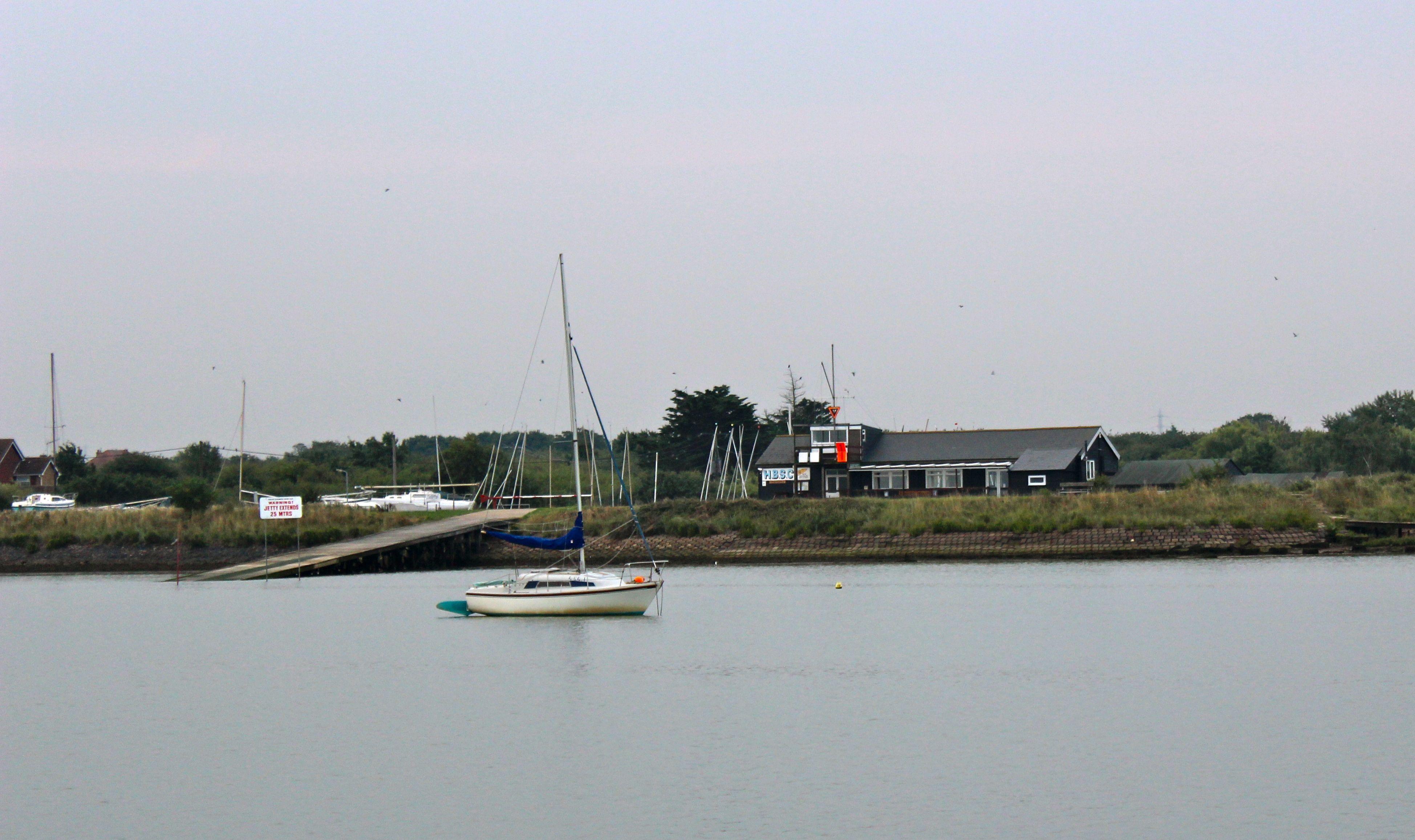 the harlow sailing club