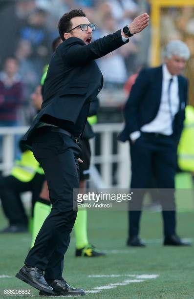 04-09 BERGAMO, ITALY - APRIL 08: US Sassuolo Calcio coach... #cazzagodipianiga: 04-09 BERGAMO, ITALY - APRIL 08: US… #cazzagodipianiga