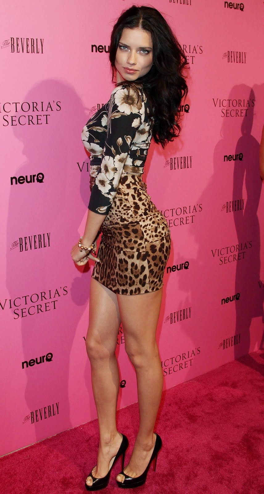 Two of my favorites!!! Adriana Lima in Louboutin 'Lady ...