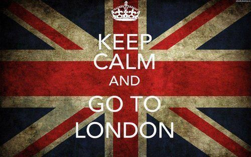 Keep Calm and Go to London <3