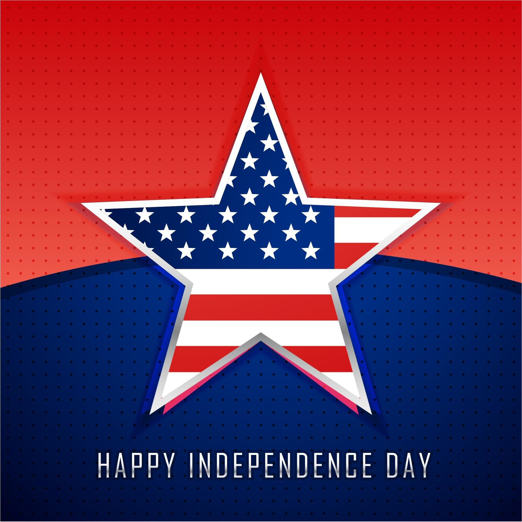 Usa Happy 4th Of July Usa Independence Day Vector