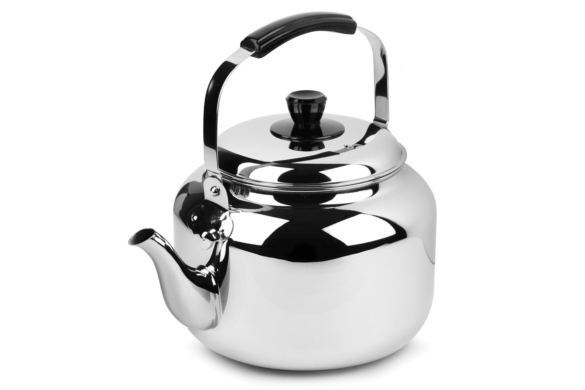 Extra Sturdy Surgical Stainless Steel 2.75 Quart Bellemain Whistling Kettle w...