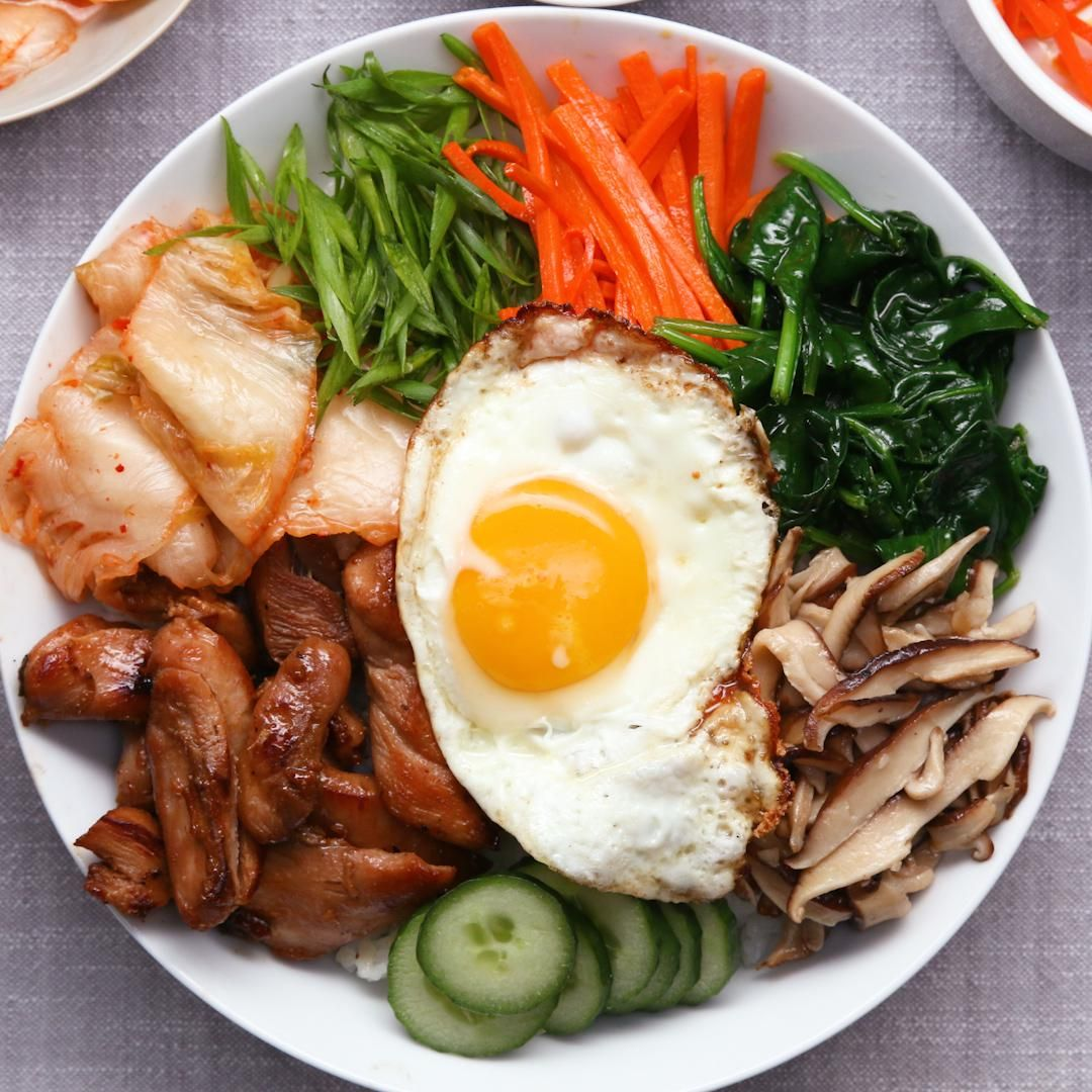Chicken Bibimbap Recipe In 2019 Her Meal Prep