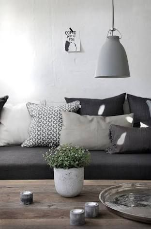 Fantastic Image Result For Dark Grey Couch What Colour Scatter Inzonedesignstudio Interior Chair Design Inzonedesignstudiocom