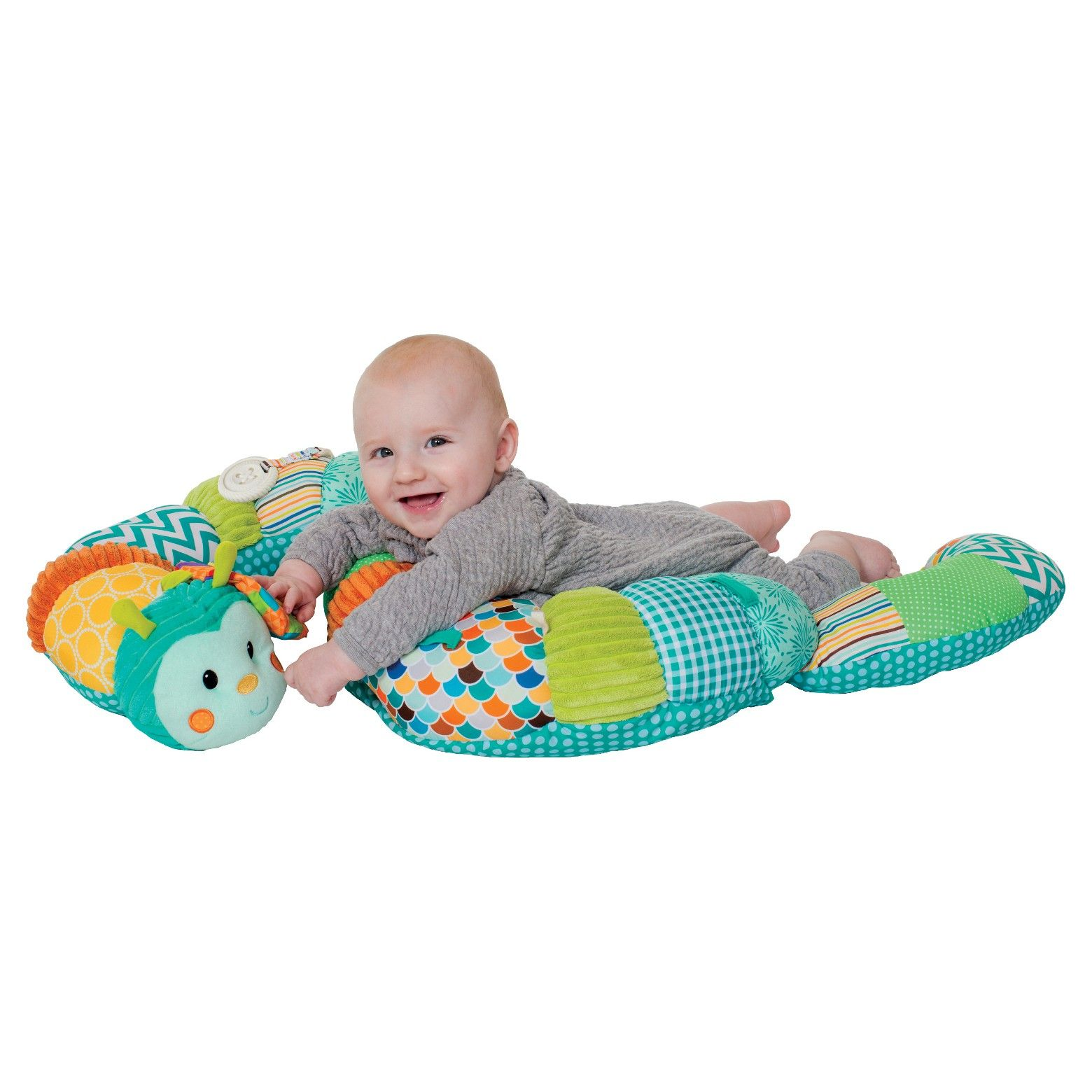 80bc56c1b6c53 Babies will go gaga for the Prop-A-Pillar Tummy Time & Seated Support, a tummy  time prop that transforms into a secure seat positioner.