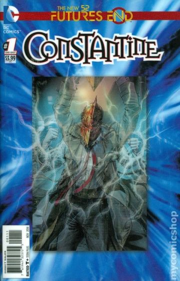 Constantine Future's End #1 3D-cover (one-shot)