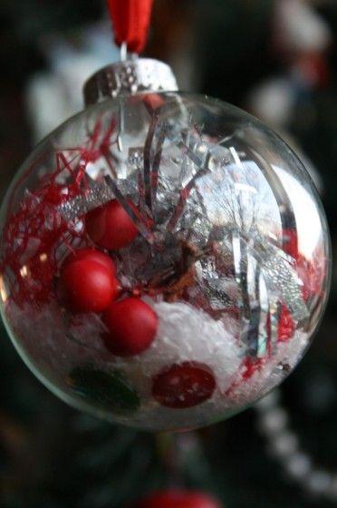 clear glass christmas balls happy hooligans easy glass ornaments - Glass Christmas Balls