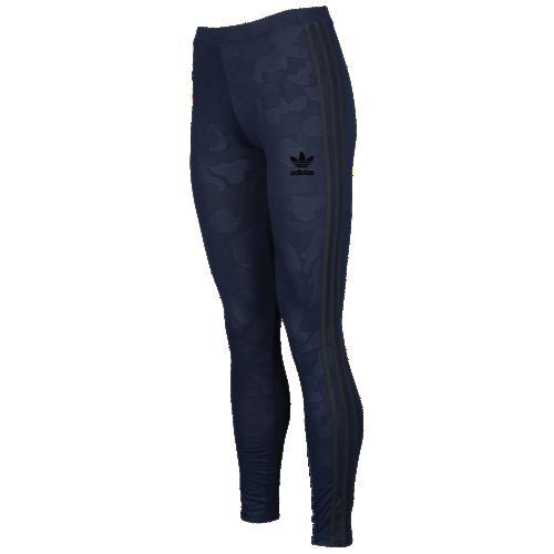 b15e80919e95e adidas Originals Seoul Winter Embossed 3-Stripe Leggings - Women's at Lady Foot  Locker