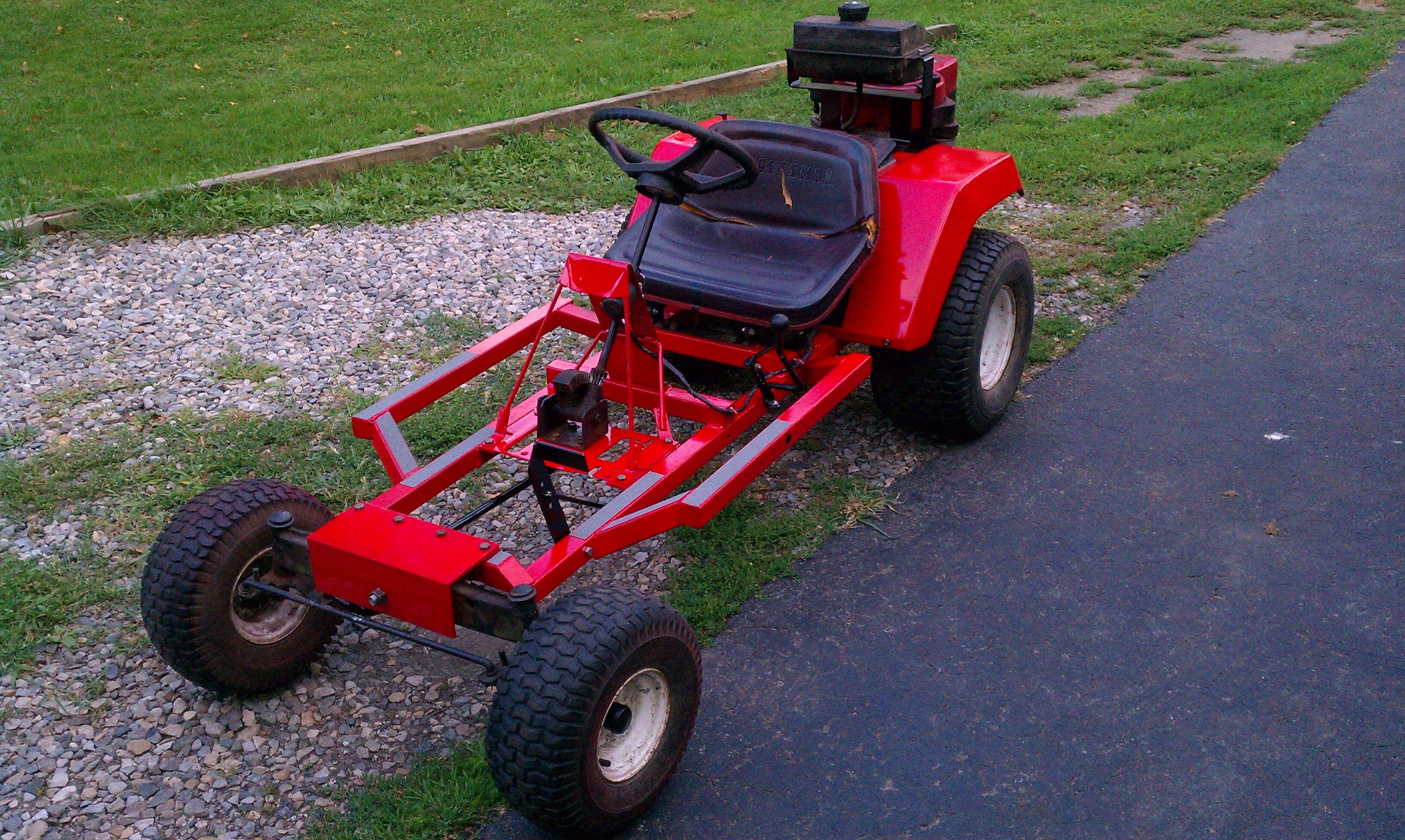 Lawn Mower Go Kart Conversion